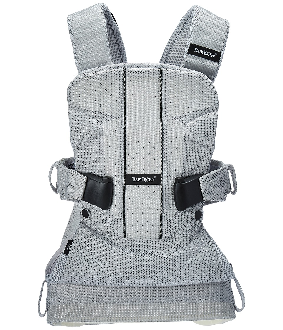 Image of BabyBjorn - Baby Carrier One Air (Silver Mesh) Carriers Travel