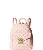 LOVE Moschino - Quilted Emblem Mini Backpack