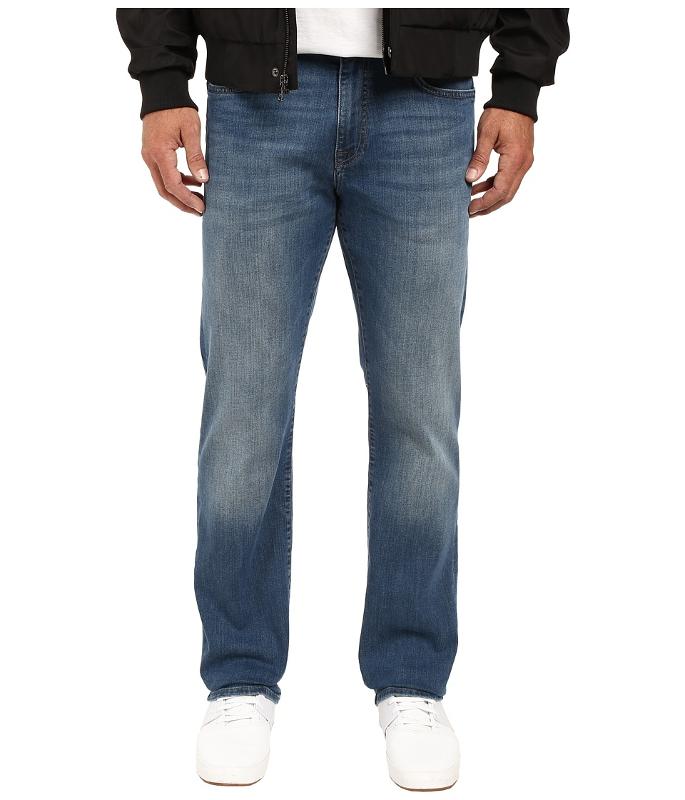 Mavi Jeans Myles Casual Straight in Mid Shaded Williamsburg (Mid Shaded Williamsburg) Men