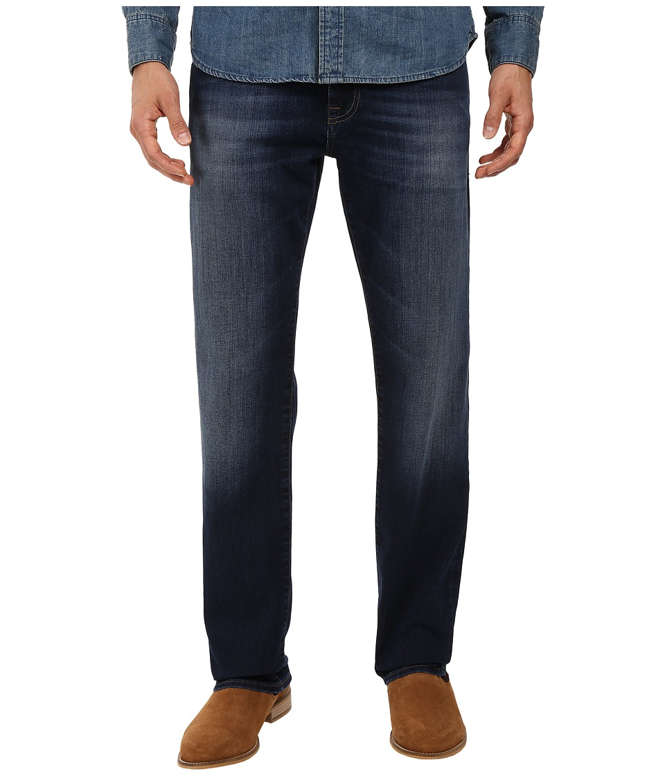 Mavi Jeans Zach Classic Straight in Dark Brushed Williamsburg (Dark Brushed Williamsburg) Men