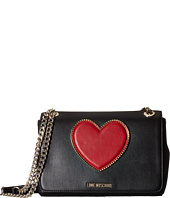 LOVE Moschino - Heart Logo Shoulder Bag