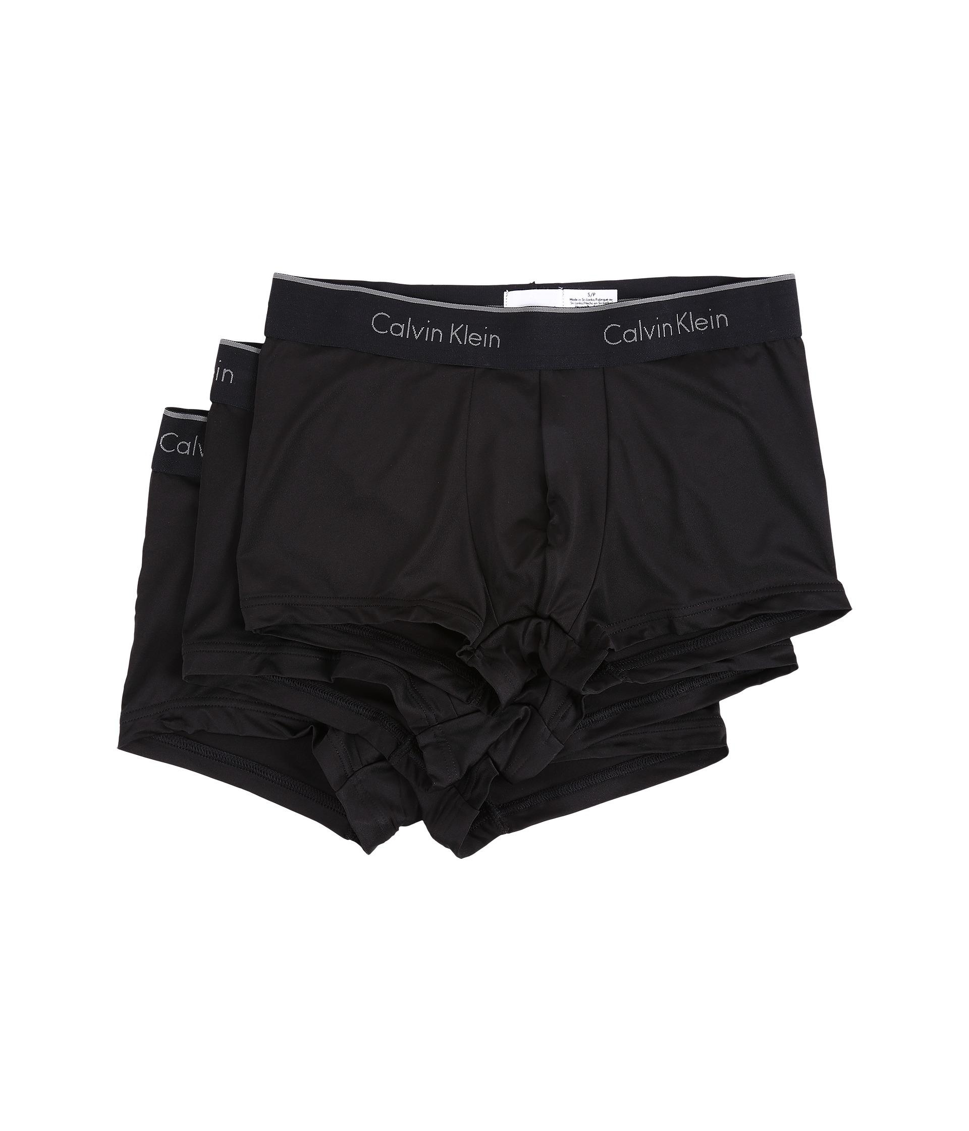 calvin klein underwear micro stretch 3 pack low rise trunk. Black Bedroom Furniture Sets. Home Design Ideas
