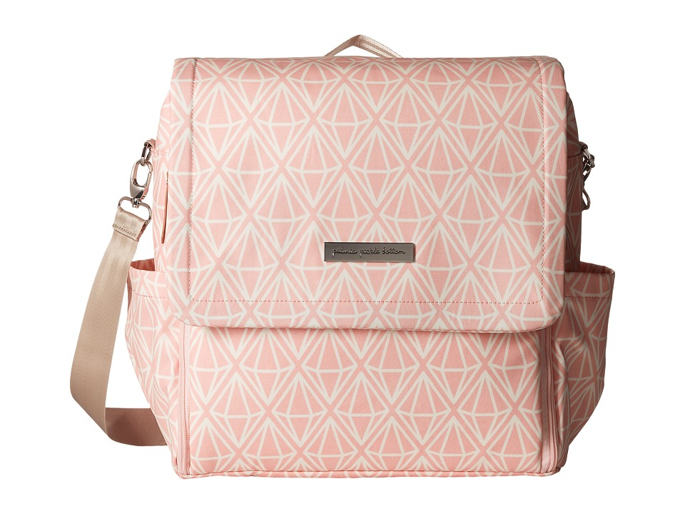 petunia pickle bottom - Glazed Boxy Backpack (Gems of Giverny) Diaper Bags