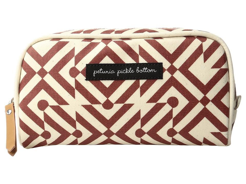 petunia pickle bottom - Glazed Powder Room Case (Mazes of Milano) Cosmetic Case