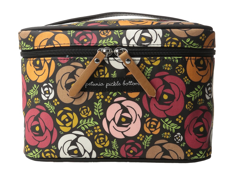 petunia pickle bottom - Glazed Travel Train Case (Gardens of Gillingham) Wallet