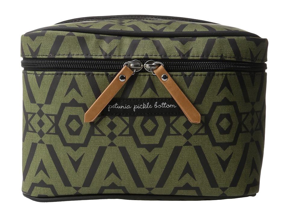 petunia pickle bottom - Glazed Travel Train Case (Brazilian Bossanova) Wallet