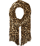MICHAEL Michael Kors - Large Spotted Cheetah Double Printed Metallic Raschel