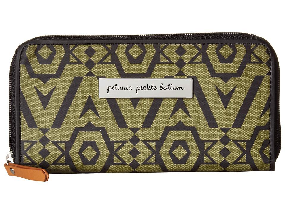 petunia pickle bottom - Glazed Wanderlust Wallet (Brazilian Bossanova) Clutch Handbags