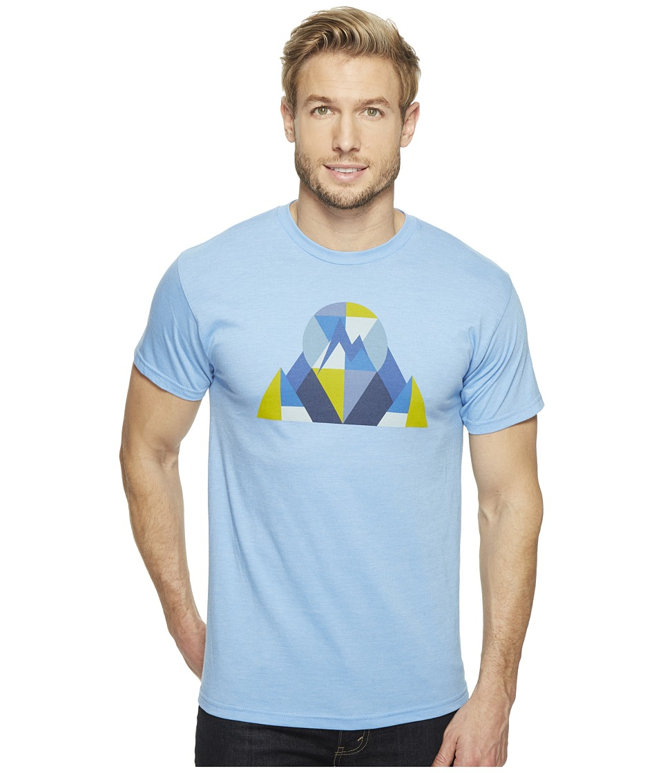 Marmot Hew Tee Short Sleeve (Light Blue Heather) Men