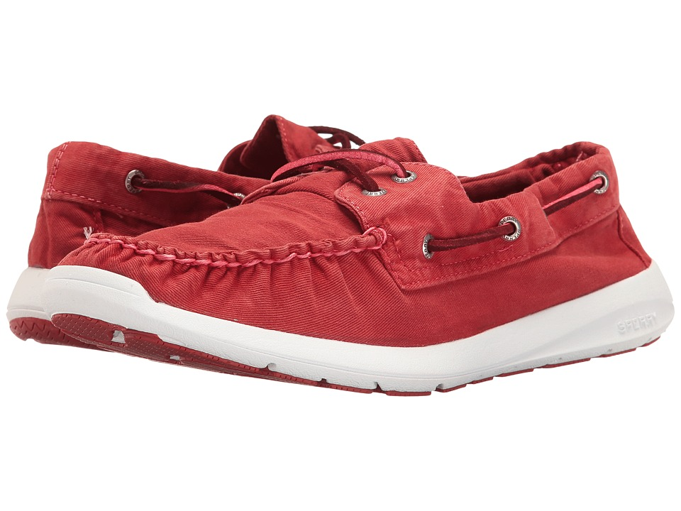 Sperry Sojourn Washed Canvas 2-Eye (Red) Men