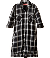 Blank NYC Kids - Plaid Detailed Dress in Old Polaroid (Big Kids)