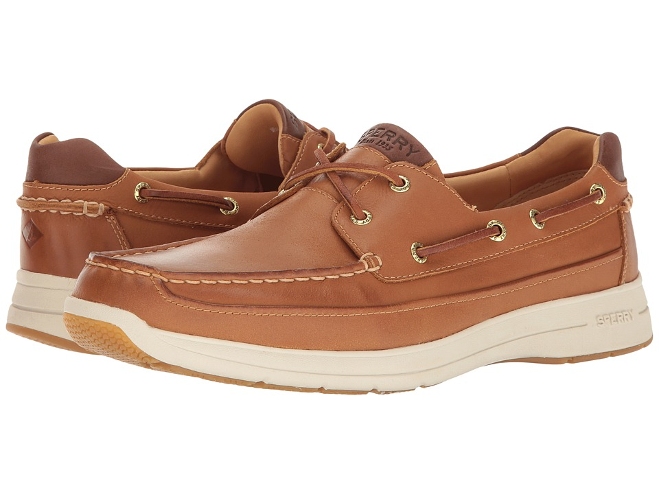 Sperry Top-Sider Gold Cup Ultra 2-Eye w/ ASV (Tan/White) ...
