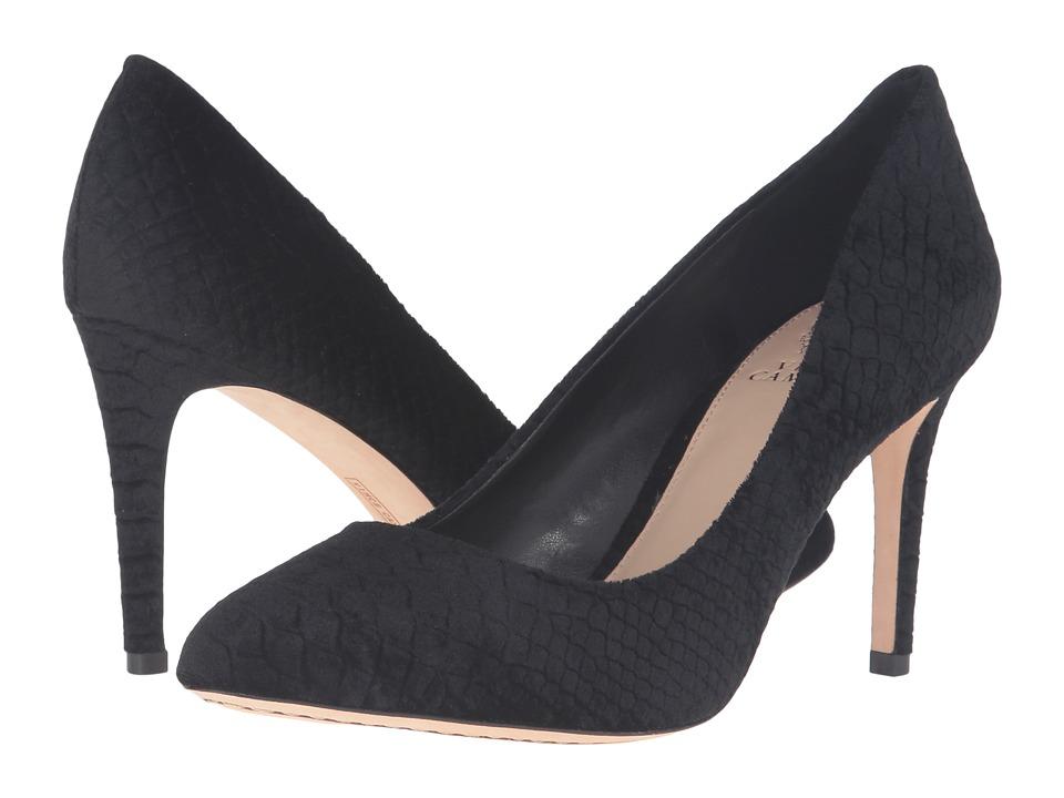 Vince Camuto - Langer (Black Velvet Pitone) High Heels