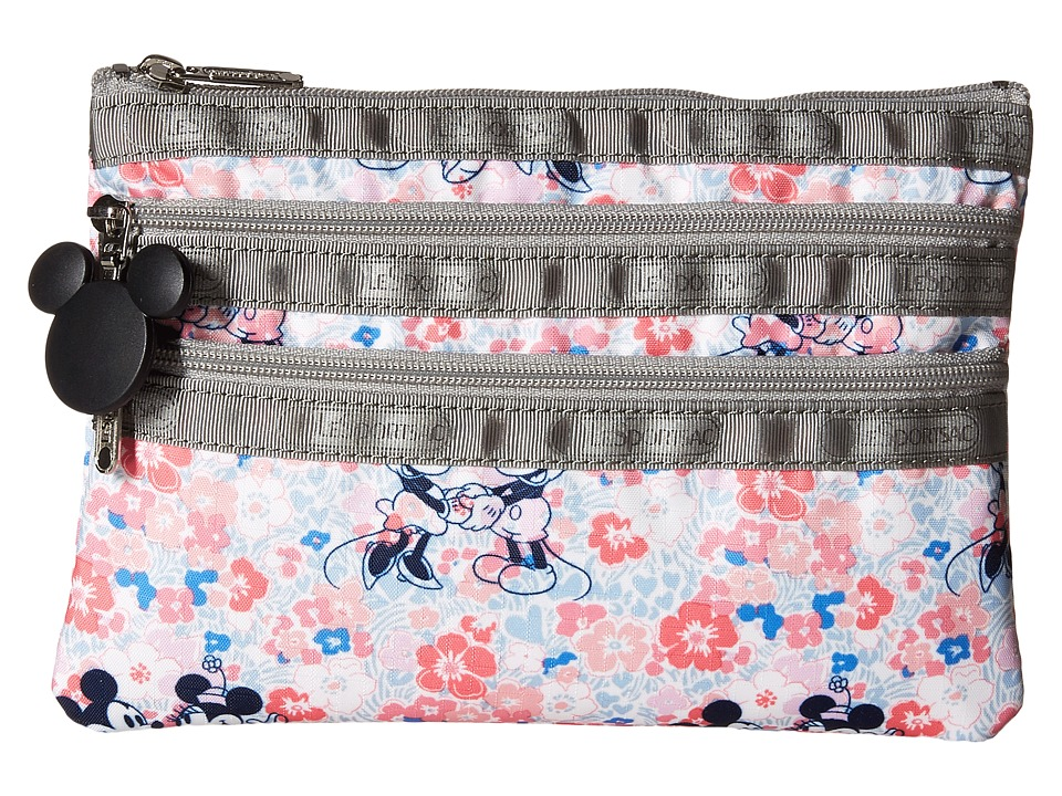 LeSportsac - 3 Zip Cosmetic (Spring Fling) Cosmetic Case
