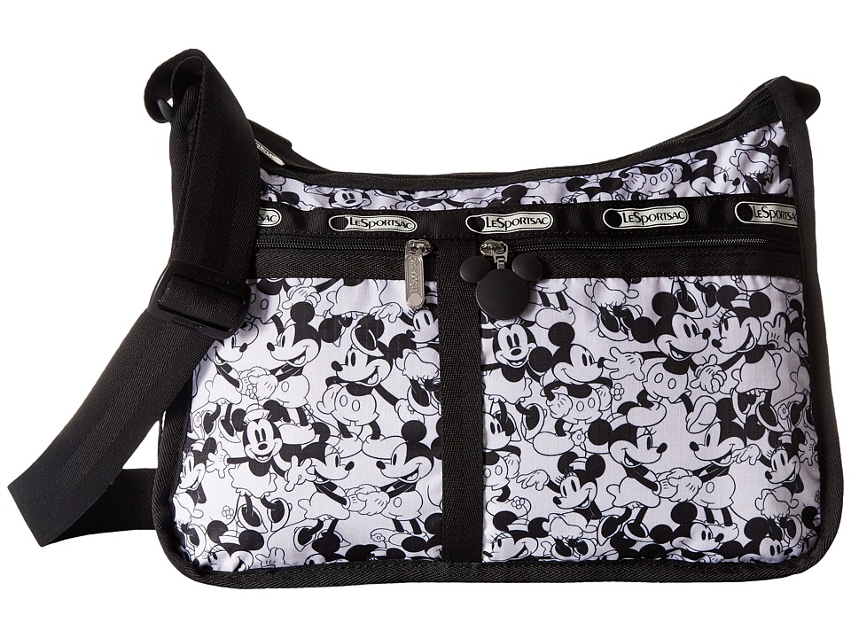 LeSportsac - Deluxe Everyday Bag (Mickey Loves Minnie) Cross Body Handbags