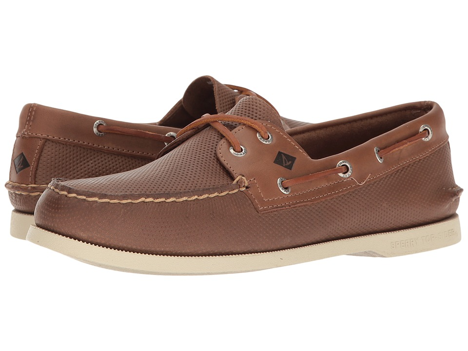 Sperry Top-Sider A/O 2-Eye Perfed (Tan) Men