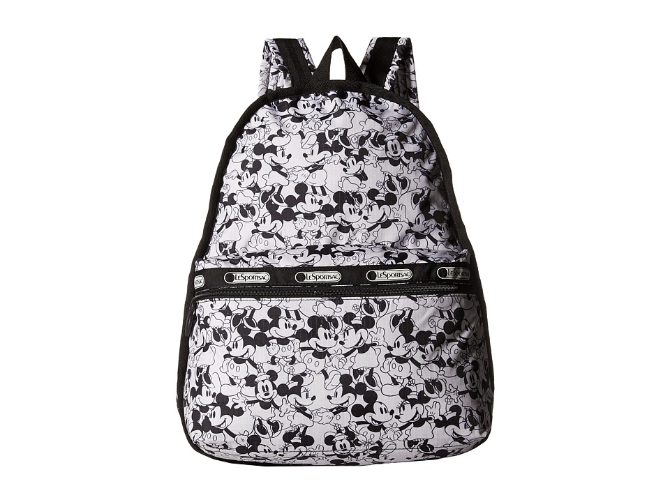 LeSportsac - Basic Backpack (Mickey Loves Minnie) Backpack Bags