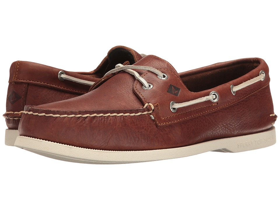 Sperry Top-Sider A/O 2-Eye Cross Lace (Brown) Men