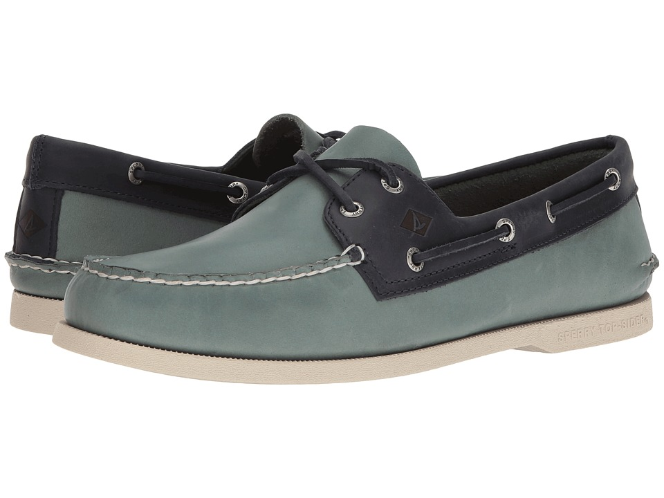 Sperry Top-Sider A/O 2-Eye Sarape (Blue Surf/Navy) Men