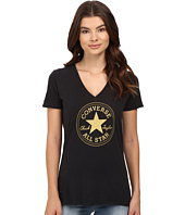 Converse - At Once Metallic Core Patch Tee