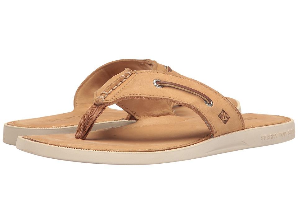 Sperry - A/O Thong Sandal (Light Peanut) Men's Sandals