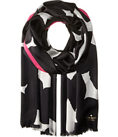 Kate Spade New York - Blot Dot Silk Oblong Scarf