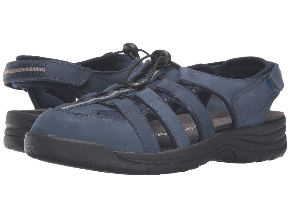 Drew Element (Navy Nubuck) Sandals