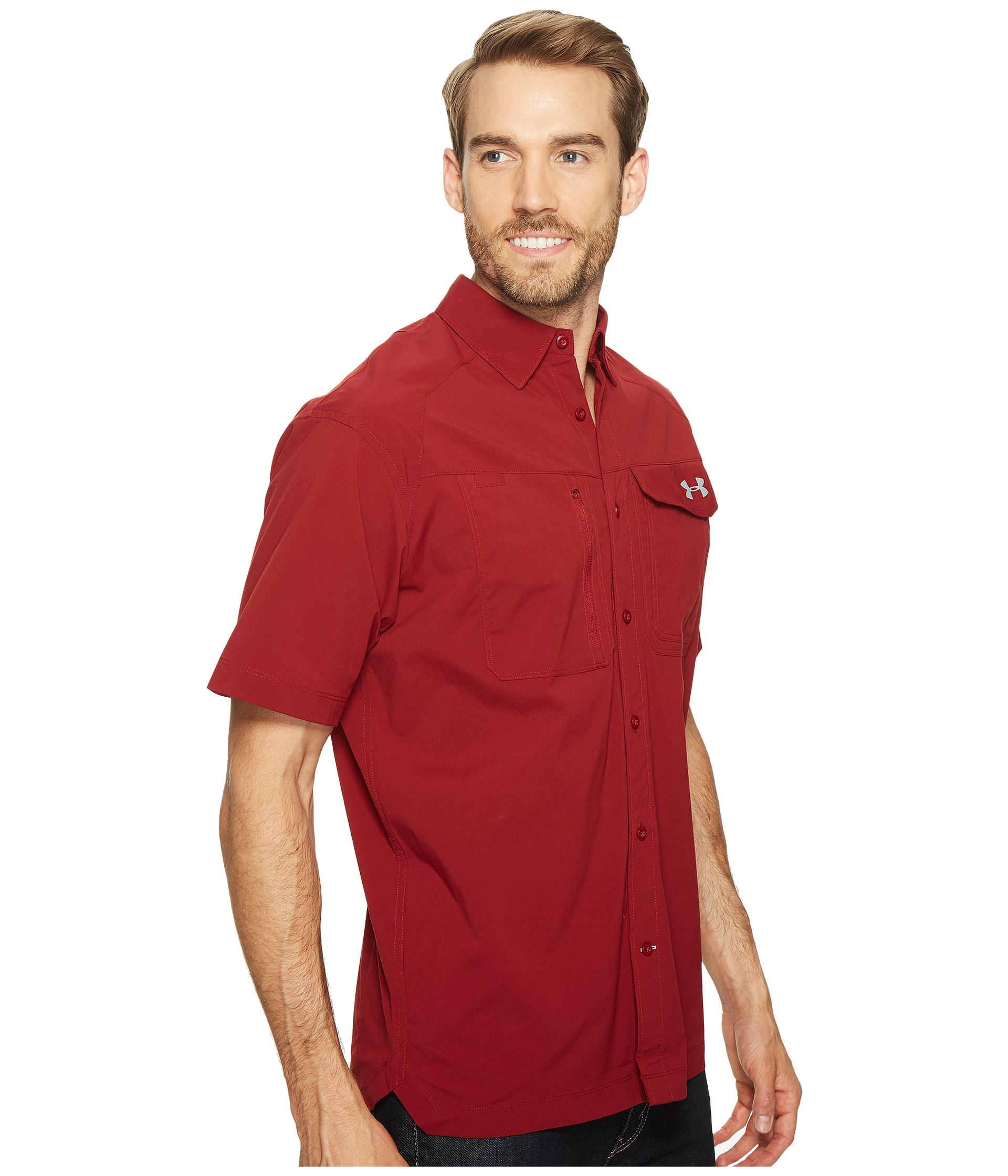 Under Armour Ua Fish Hunter Short Sleeve Solid Shirt At