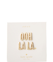 Kate Spade New York - Ashe Place Sticker - Ooh La La Phrase