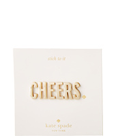 Kate Spade New York - Ashe Place Sticker - Cheers Phrase