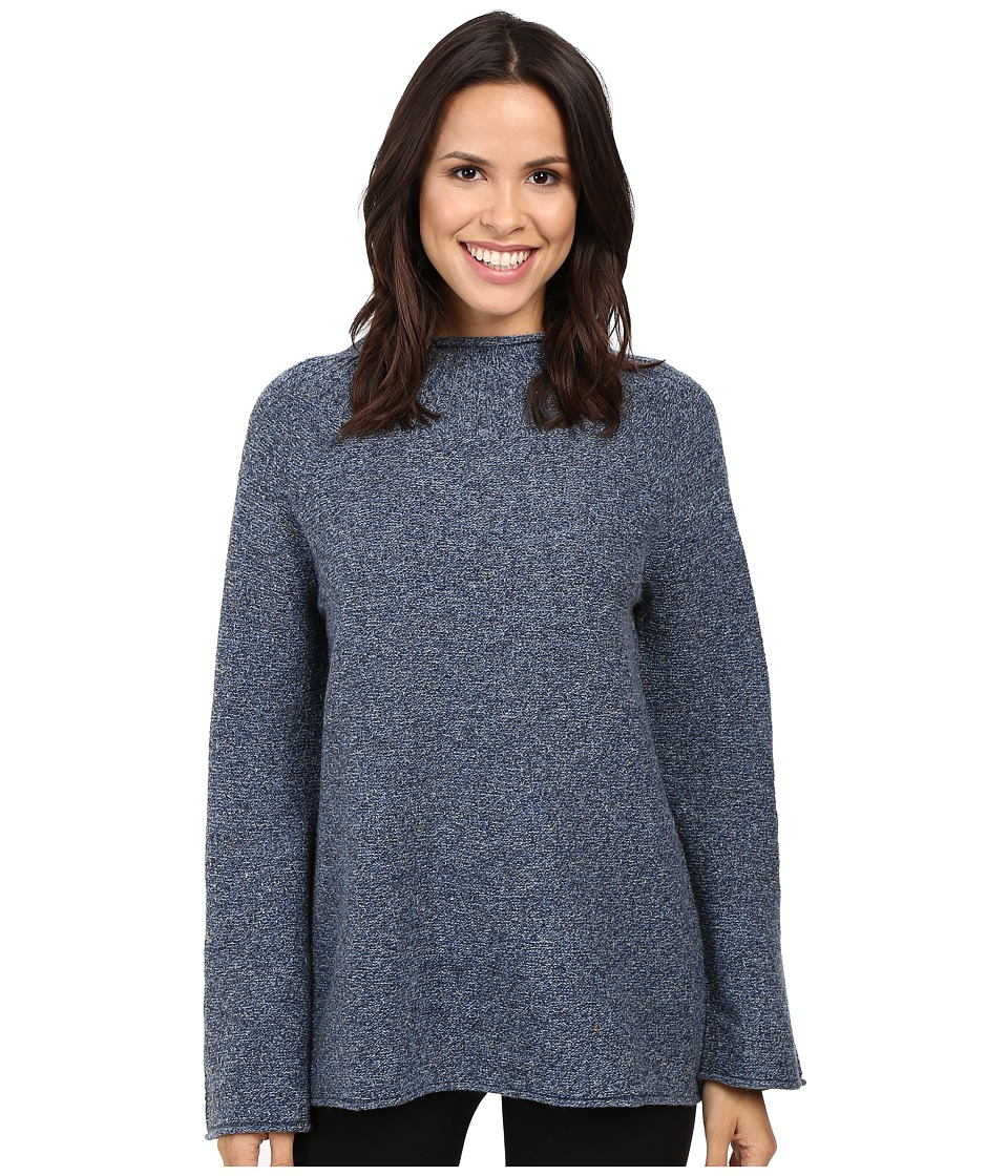 Pendleton Pria Pullover (Blue Tweed) Women