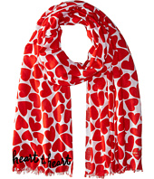 Kate Spade New York - Heart to Heart Oblong Scarf