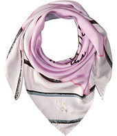 Kate Spade New York - Letters from Paris Silk Square Scarf