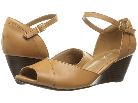 Clarks Brielle Dacy - Light Tan Leather