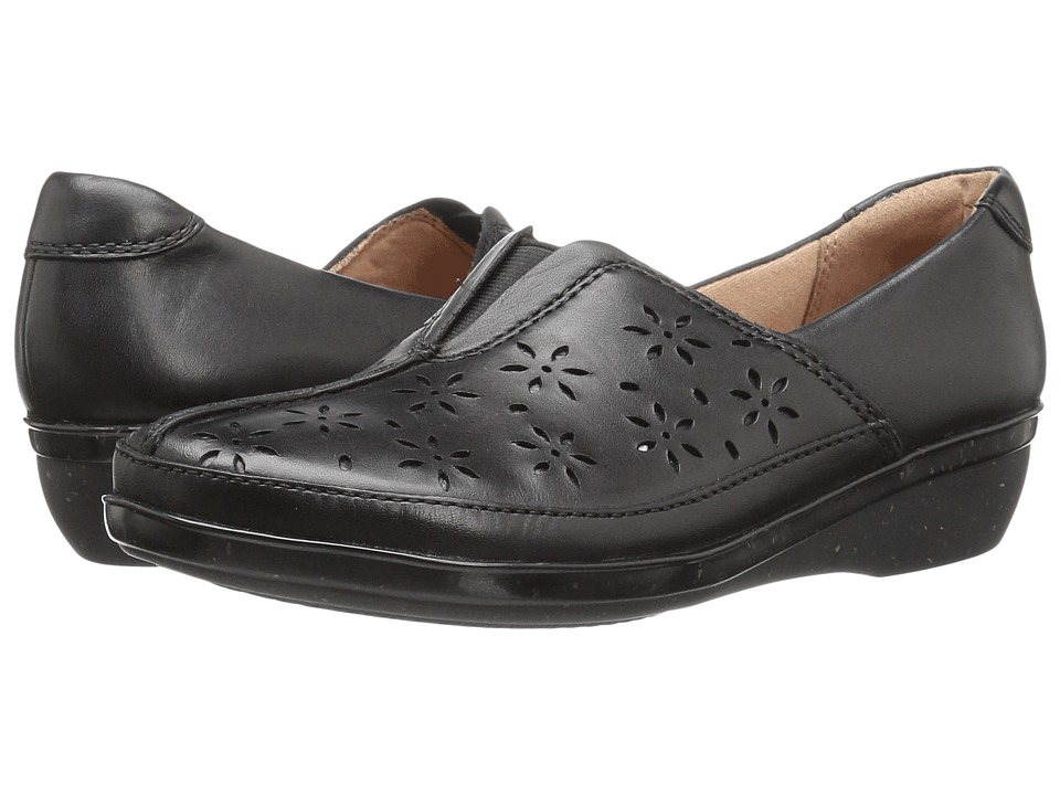 Clarks Everlay Dairyn (Black Leather) Women's Shoes