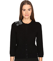 Kate Spade New York - Embellished Bow Cardigan