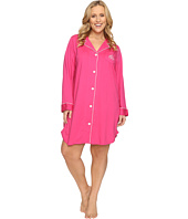 LAUREN Ralph Lauren - Plus Size Classic Notch Collar Sleepshirt