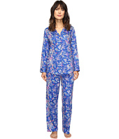 LAUREN Ralph Lauren - Sateen Notch Collar PJ