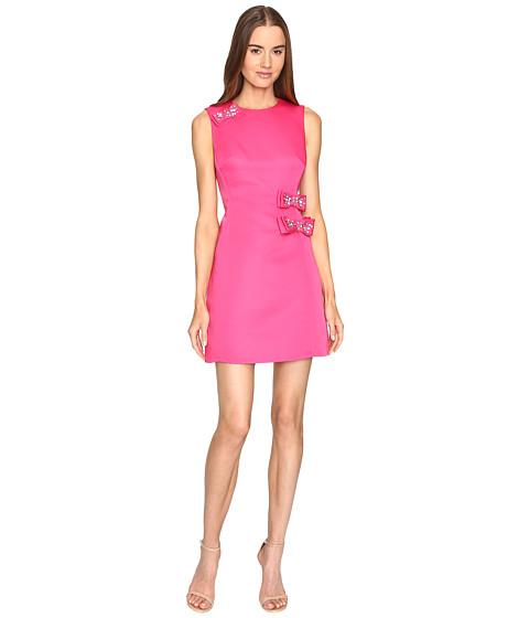 Kate Spade New York Embellished Bow A-Line Dress - Cabaret Pink