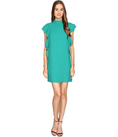 Kate Spade New York - Satin Crepe Flutter Sleeve Dress
