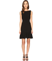 Kate Spade New York - Crepe Flounce Dress