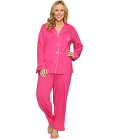 LAUREN Ralph Lauren - Plus Size Classic Notch Collar Pajama
