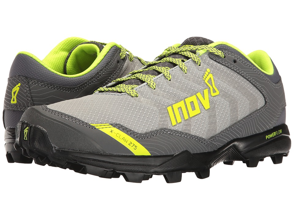 inov-8 X-Claw 275 Chill (Silver/Black/Neon Yellow) Men