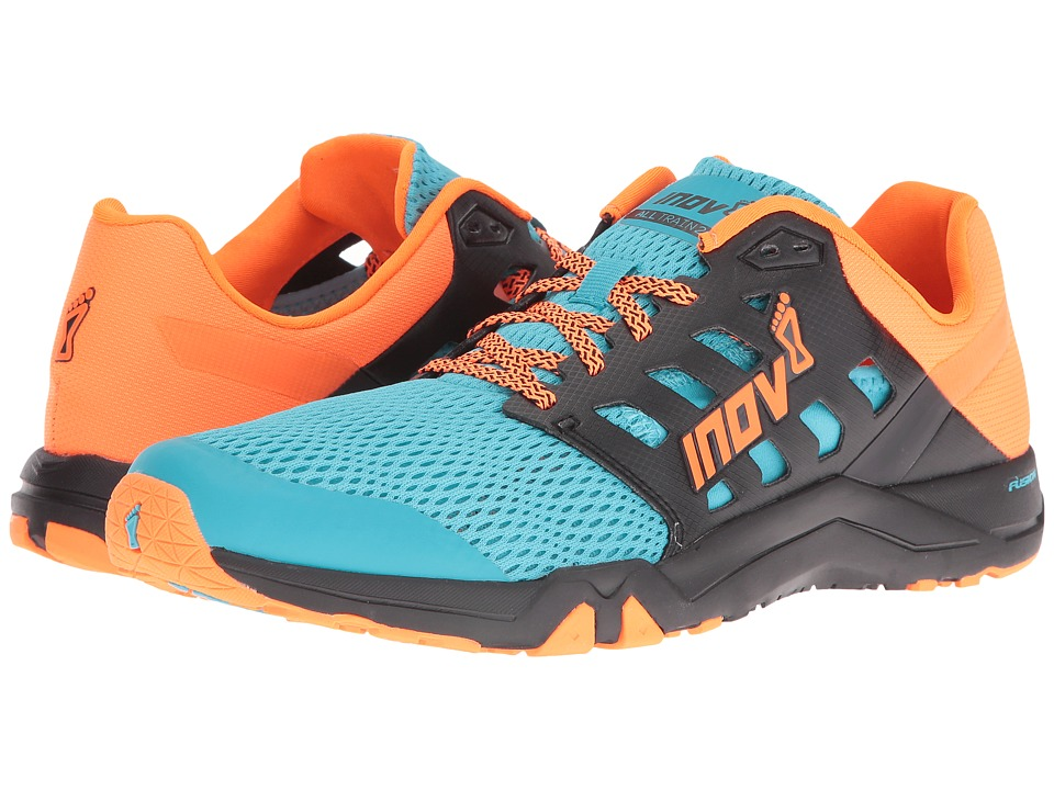 inov-8 All Train 215 (Blue/Black/Neon Orange) Men