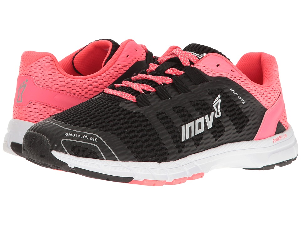 inov-8 RoadTalon 240 (Black/Neon Pink/White) Women's Shoes