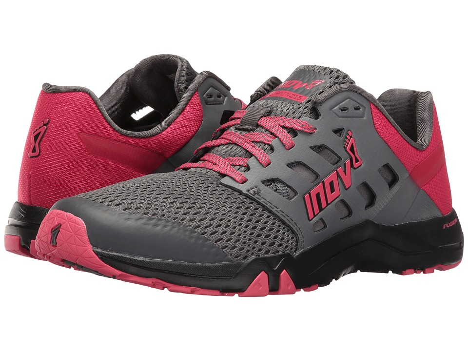 inov-8 All Train 215 (Dark Grey/Pink/Black) Women's Shoes