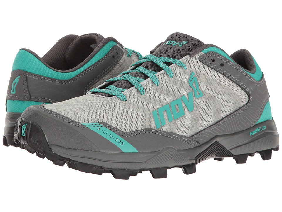 inov-8 - X-Claw 275 Chill (Silver/Teal/Grey) Womens Shoes