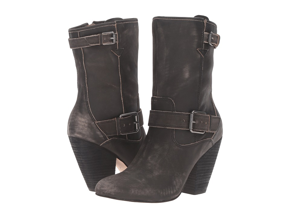 Corso Como - Somers (Black Worn Leather) Women