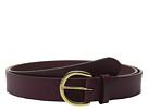 LAUREN Ralph Lauren 1 1/8 Milford Endbar Belt w/ Contrast Edge