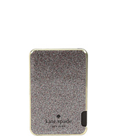 Kate Spade New York - Glitter Dot Slim Battery Bank with Captive Lightning Cable